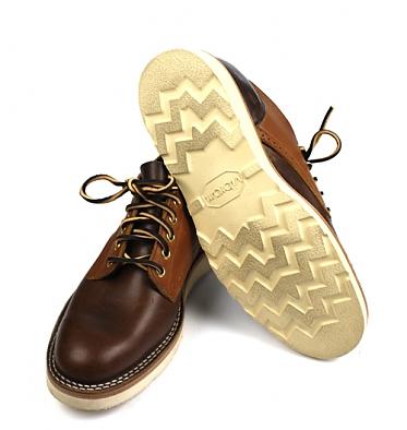 4 Horsemen Supplies x Viberg Saddle Oxford Shoe