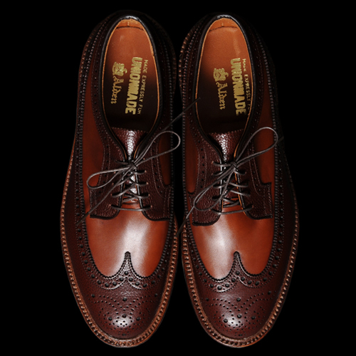 Unionmade x Alden McClaren Two-Tone Longwing Brogues