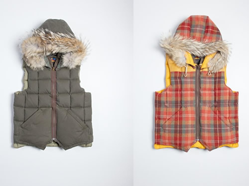 In Stock | Nigel Cabourn x Eddie Bauer Canadian Vest at Superdenim