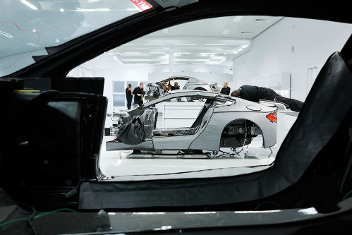How the Aston Martin One-77 Supercar is Built