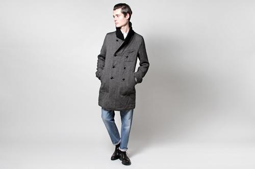 ts(s) Italian Tweed Chesterfield Coat