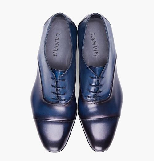 Lanvin Navy Torsade Shoes - F/W 2012