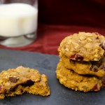 Pumpkin Harvest Dunking Cookies | Pork Cracklins