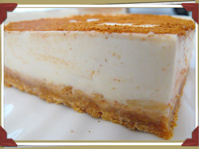 Tarta de leche merengada