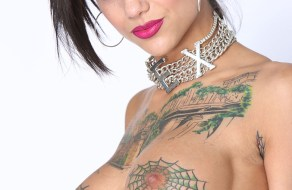 fotos Fotos de Bonnie Rotten, una pornstar super tatuada