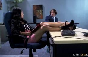 fotos Asa Akira folla en el trabajo con su nuevo empleado