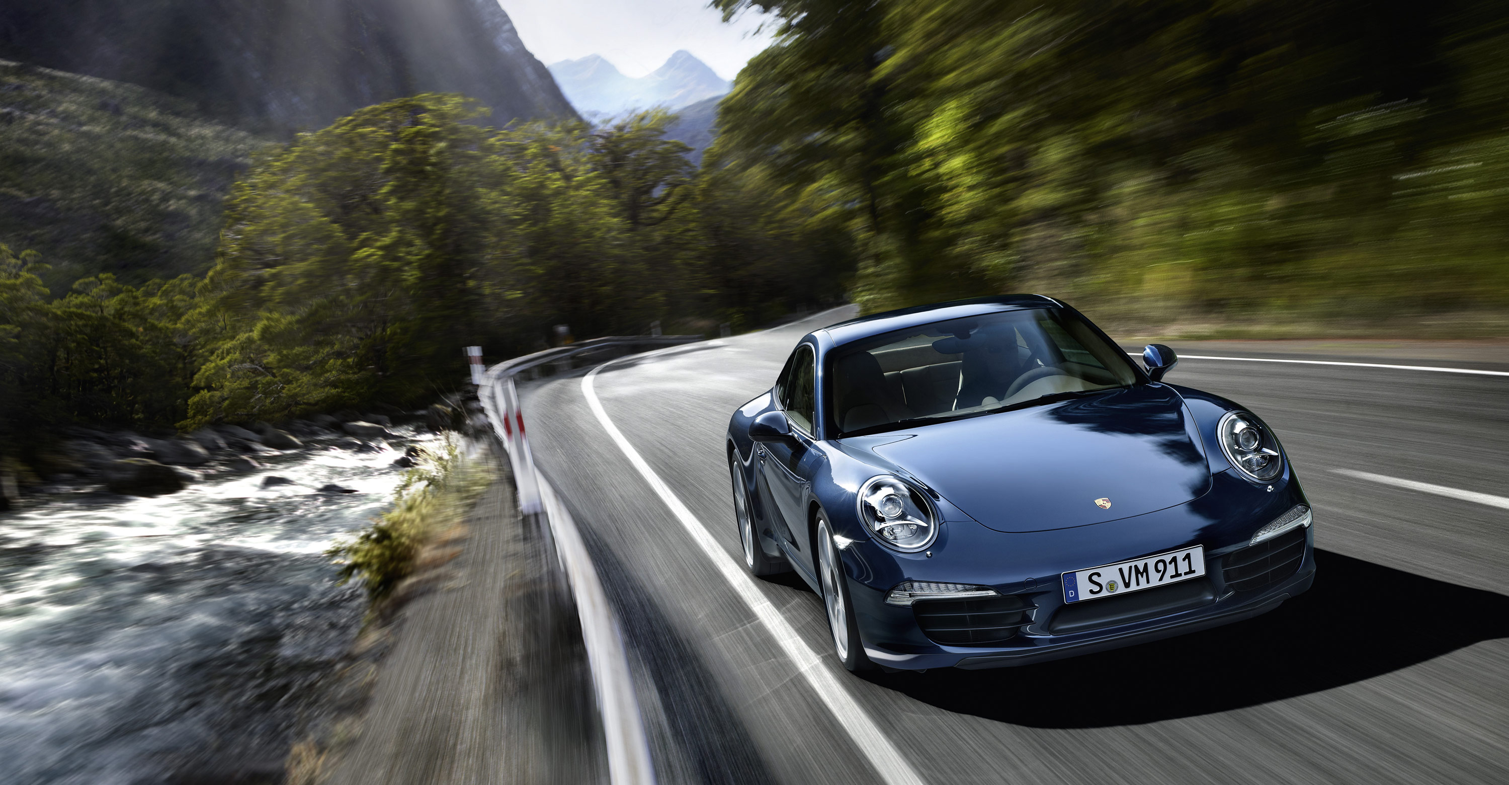Police Car 4k Wallpaper 2012 Blue Porsche 911 Carrera S Wallpapers