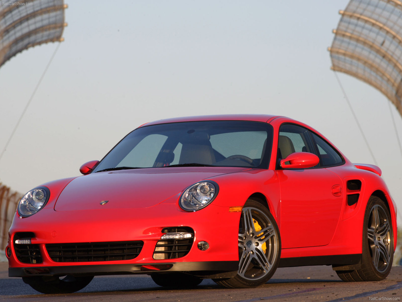 Windows 10 Turbo Cars Wallpaper 2007 Red Porsche 911 Turbo Wallpapers