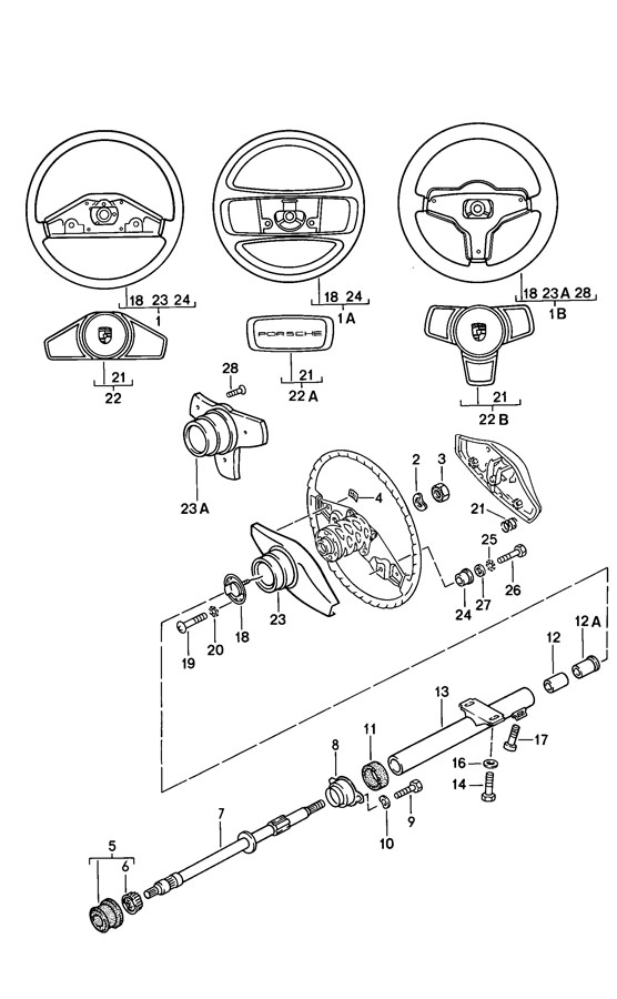 steering diagram for 1976 carver