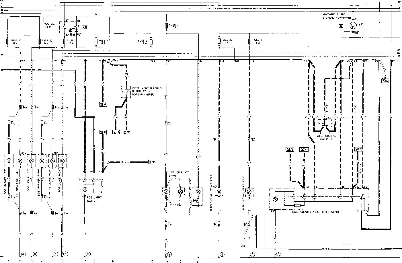 porsche 911 parking light diagram