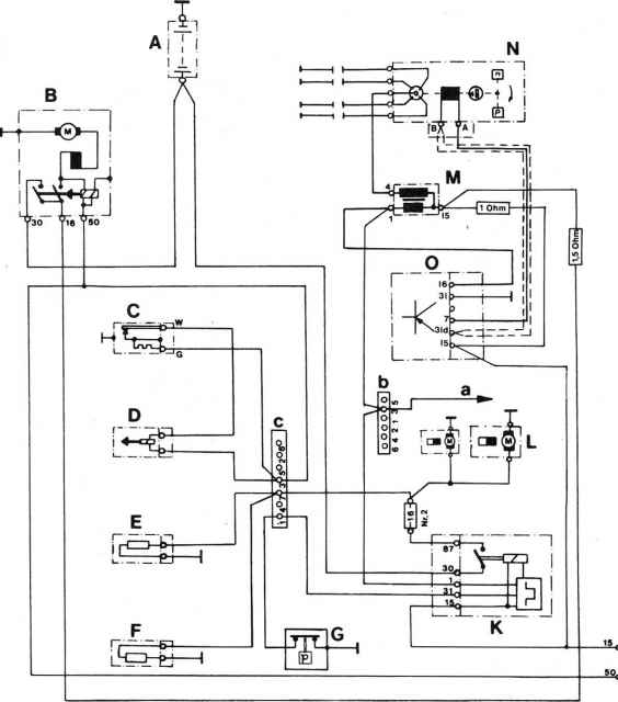 1973 mercedes 450sl ignition wiring diagram