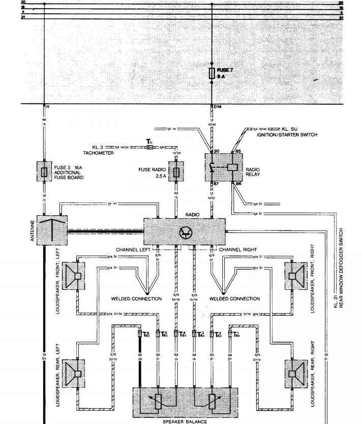 Porsche 944 Stereo Wiring Diagram - Wwwcaseistore \u2022