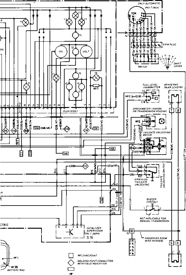1989 porsche 944 electrical system service and troubleshooting