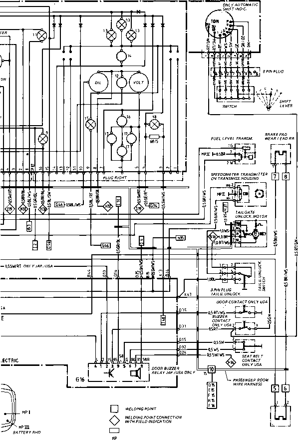 porsche 944 fuel pump wiring diagram