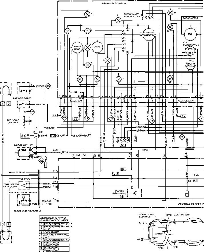 porsche 356b wiring diagram