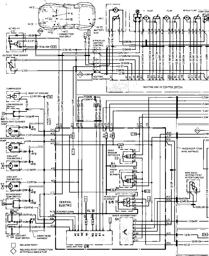 wiring diagram porsche 944 turbo