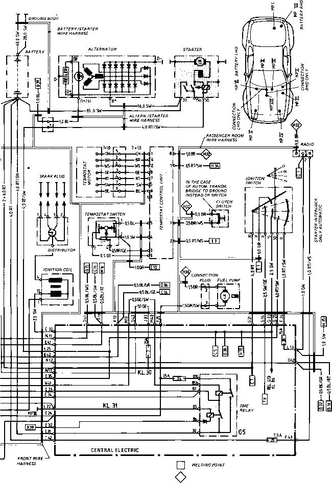 Tremendous Porsche 944 Wiring Schematic Auto Electrical Wiring Diagram Wiring Digital Resources Nekoutcompassionincorg