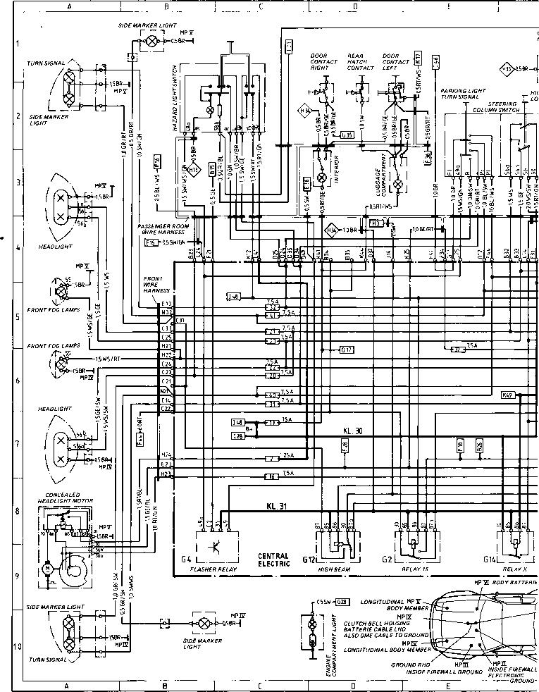 wiring diagram 1979 porsche 911