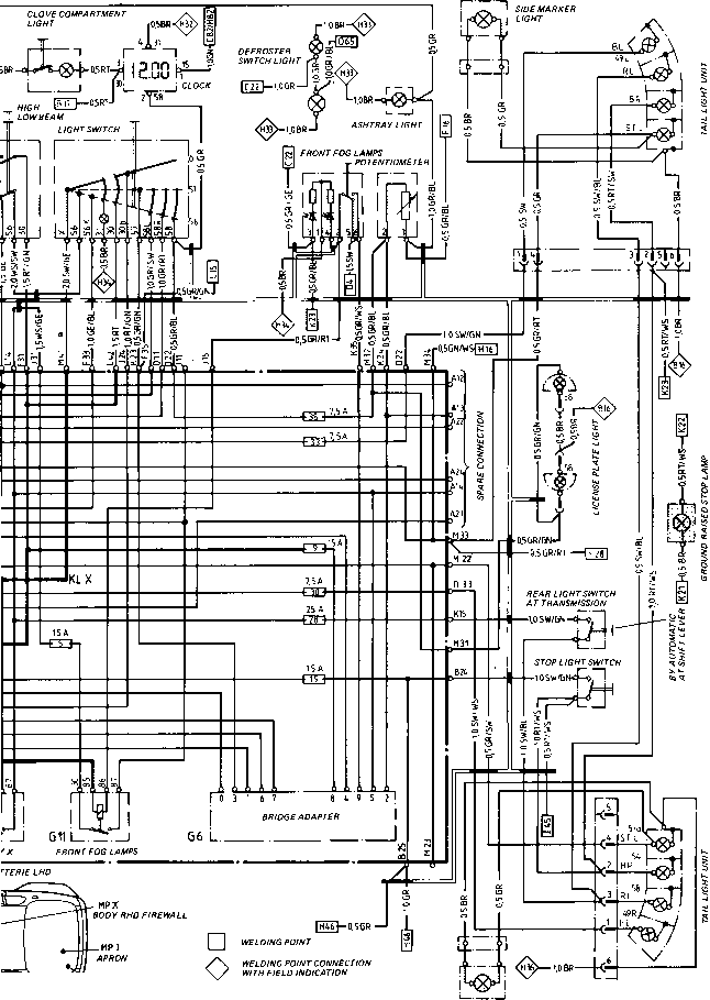 rx7 fuse box diagram