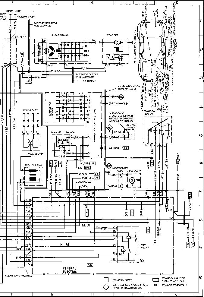 944 turbo wiring diagram sheet