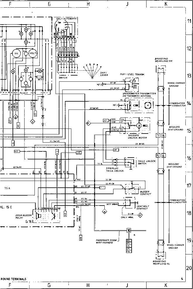 wiring diagram type 944944 turbo 944 s model 87