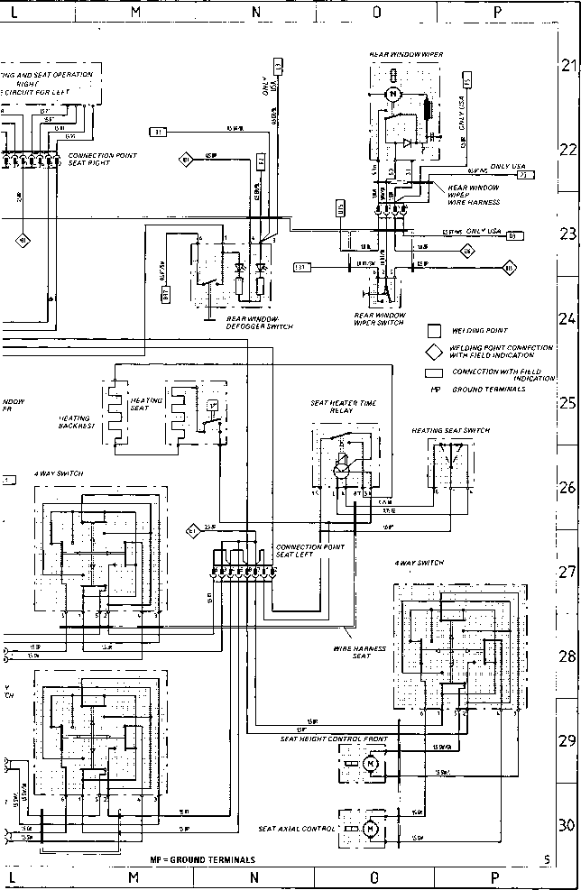 1991 vw cabriolet wiring diagram
