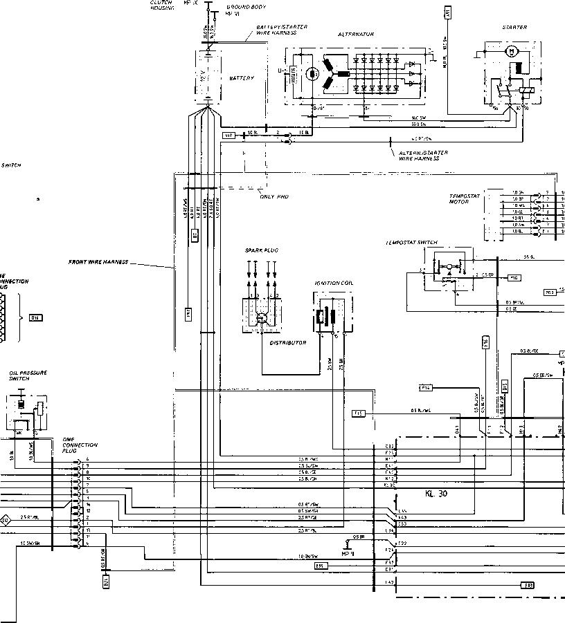 wiring for porsche