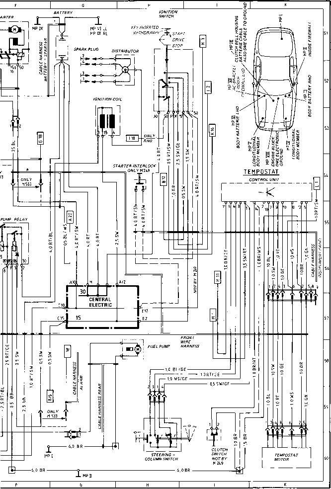 wiring diagram for cars