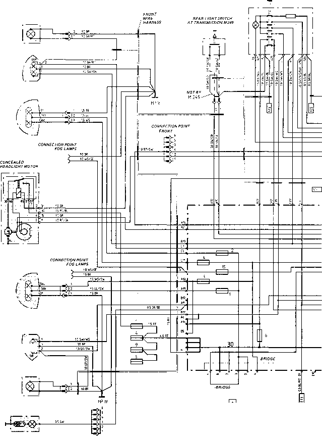 1984 porsche 944 ignition wiring diagram
