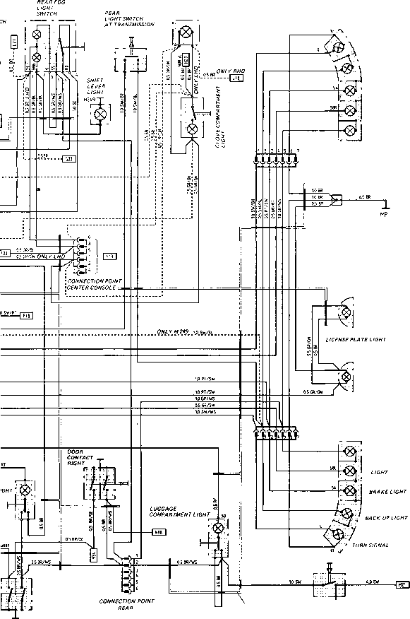 wiring diagram 1984 928