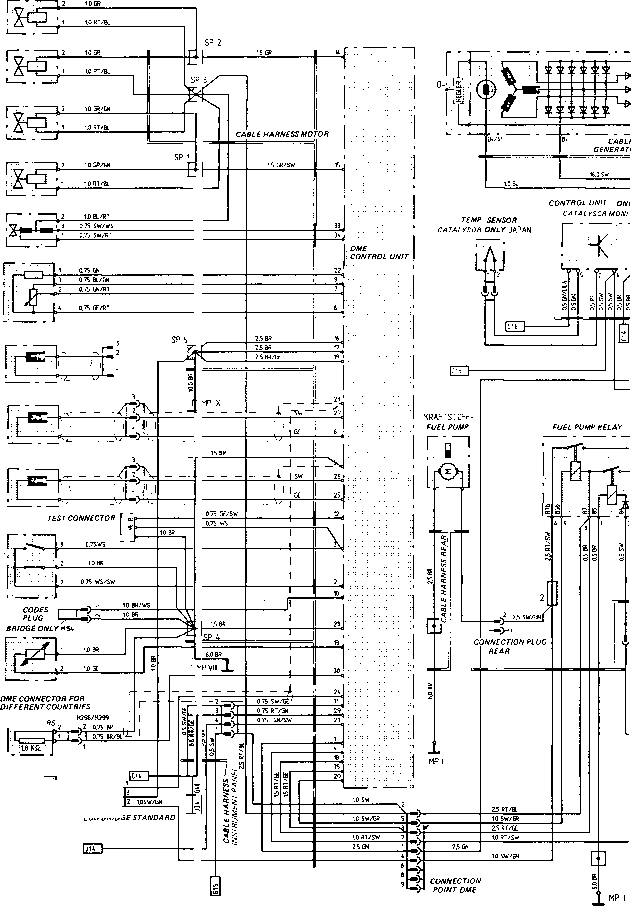 wiring diagram for a generator for cars