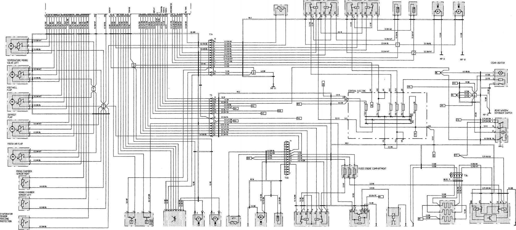 porsche carrera engine diagram