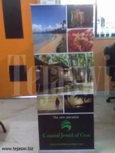 Rollup Banner Stand 6x3