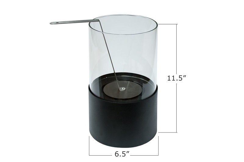 115quot Ignis Circum Tabletop Ventless Ethanol Fireplace