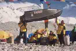 Porta-Bote Weltrekord Mount Everest