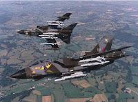 RAF: Perte de deux tornado en mer