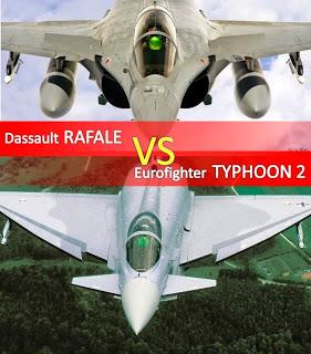 Dassault Rafale VS Eurofighter Typhoon2 1/2