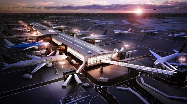 Heathrow se dote d'un nouveau terminal