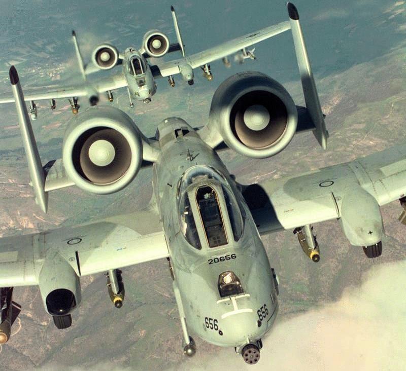 USAF : Pour le A-10 Thunderbolt II, la partie est terminée.