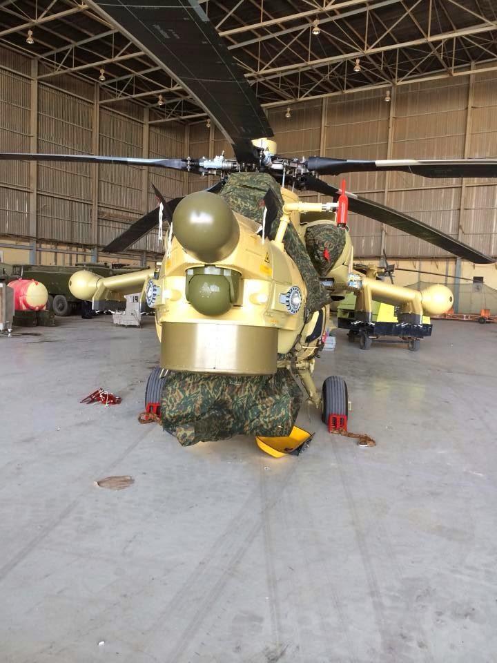 Mi-28 Irakien engagés dans les combats ?