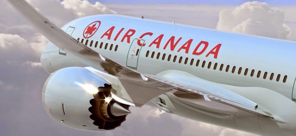 Arrivée en France du B787-8 d'Air Canada