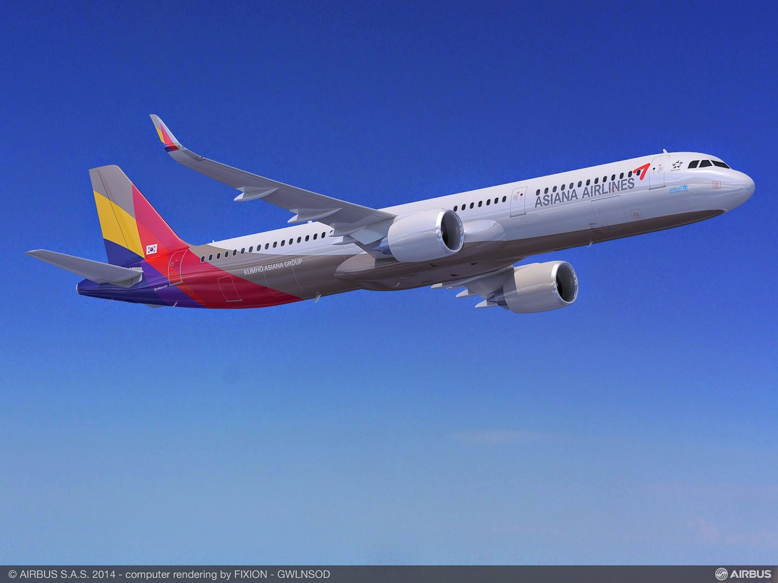 Asiana Airlines commande 25 A321neo