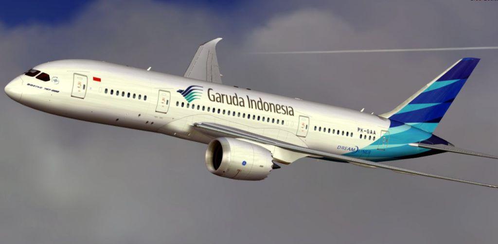Le B787 de Garuda