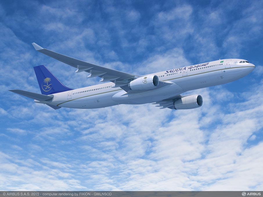 Saudi Arabian Airlines sera le client de lancement de l'A330-300 Regional
