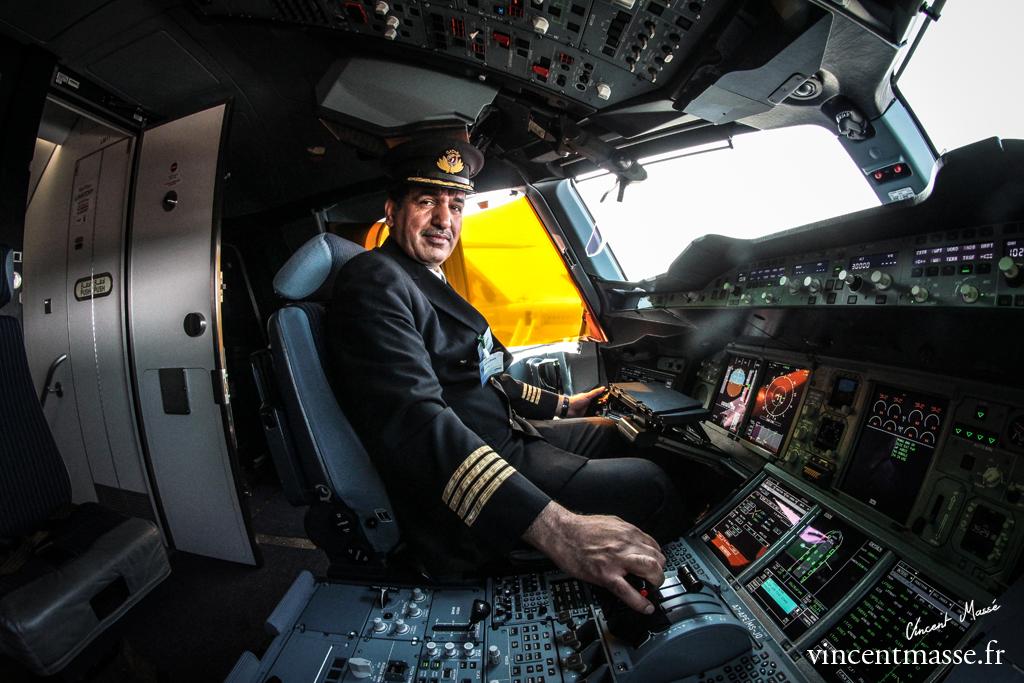 Pilote A380 Qatar