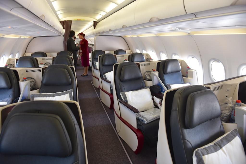 Intérieur de la cabine A319