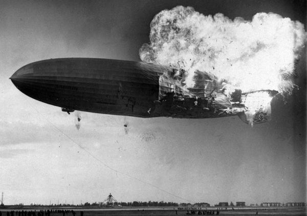Crash de l'Hindenburg, le 6 Mai 1937