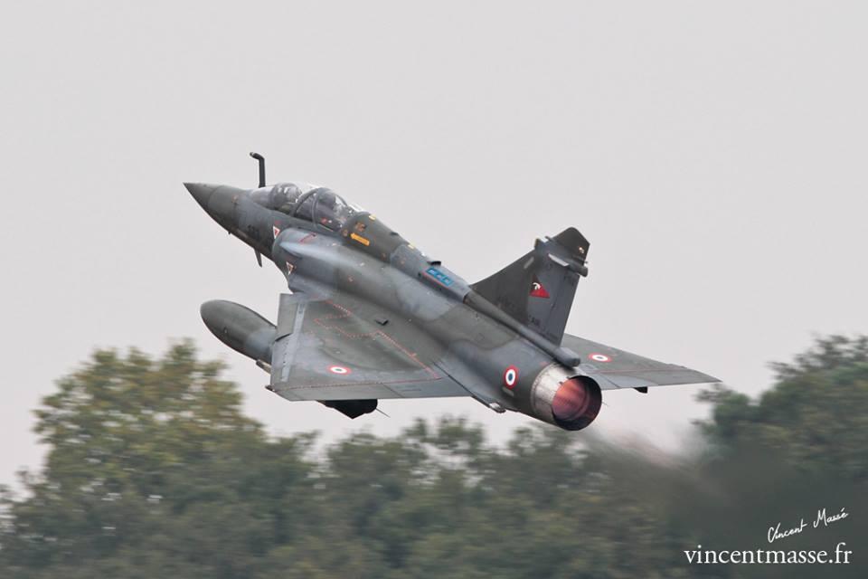 Mirage 2000 D du 2/3 SPA 67 au décollage. © Vincent Massé