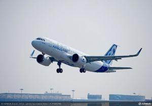 Essai en vol avec les moteurs Pratt & Whitney