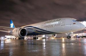 Le 787 d'Oman Air à CDG